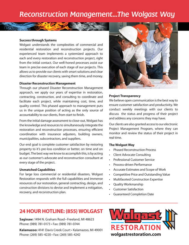 WR Commercial Residential Sheet