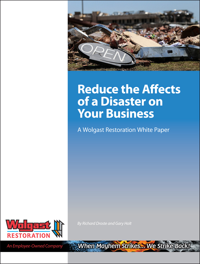 WR Reduce the Effects of a Disaster Cover
